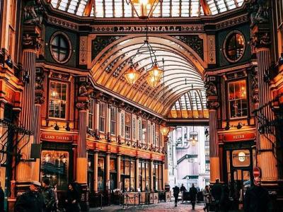 leadenhall market architecture